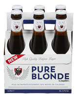JUPILER PURE BLONDE pils 3.1%vol 6x25cl
