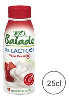 BALADE 0% lactose volle room 34% 250ml