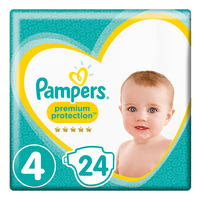 PAMPERS Premium protect 4 9-14kg 24st