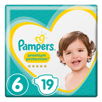 PAMPERS Premium protect 6 +13kg 19st