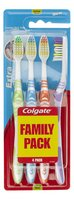 COLGATE brosse dents Extra Clean M 4pc