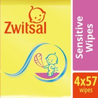 ZWITSAL doekjes sensitive 4x57st