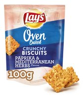 LAY'S OVEN BAKED CR.BISC. Pap&Herbs 100g