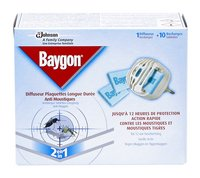 BAYGON Protector moustiques app+10 tabs