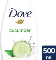 DOVE GO FRESH douche komkommer 500ml
