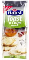HAUST toasts Toast 'n Chips ail 125g