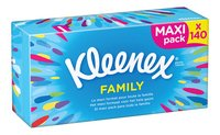 KLEENEX mouchoir papier Family bte 140pc