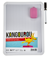 KANGOUROU mini-whiteboard+stift+duster