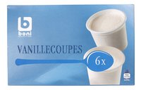 BONI SELECTION vanille cups 6x100ml