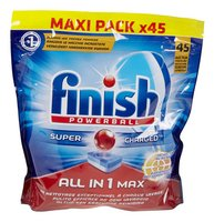 FINISH All in 1 Max tâches tenaces 45pc