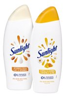 SUNLIGHT douche kamille/amandel 500ml