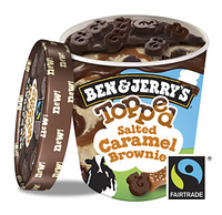 BEN & JERRY'S TOPPED Salt.Car.Br. 470ml