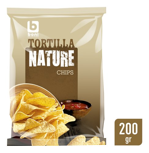 BONI SELECTION Tortilla ch. nature 200g