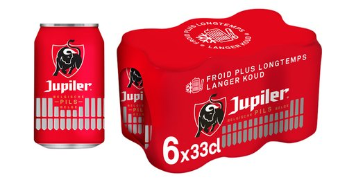 JUPILER pils Cold Grip 5,2%vol can 33cl
