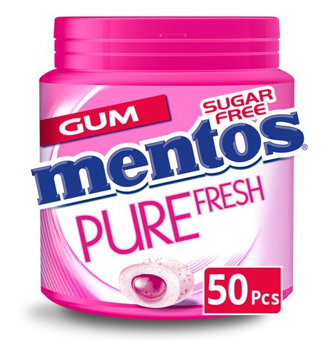 MENTOS Pure Fresh Bubblefresh 50pc