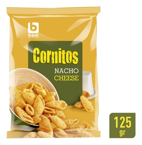 BONI SELECTION Cornitos Nacho Ch. 125g