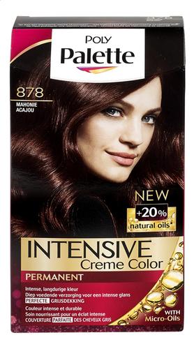 Schwarzkopf Poly Palette Coloration Cheveux 878 Acajou Colruyt