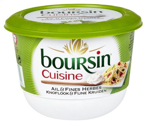 Boursin cuisine cr me ail fines herbes 240g pot colruyt - Boursin cuisine ail et fines herbes ...
