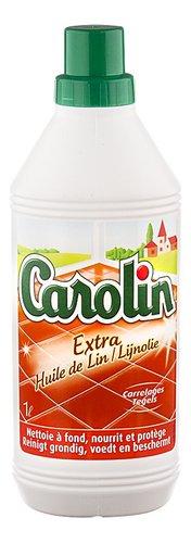 Carolin nettoyant sol carrelage huile de lin 1l colruyt - Huile de lin carrelage ...