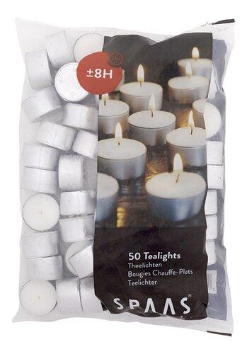 spaas bougies 8h 50 pi ces colruyt. Black Bedroom Furniture Sets. Home Design Ideas