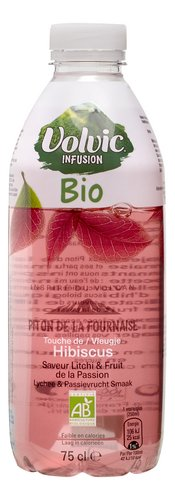 VOLVIC infusion hibiscus bio 75cl
