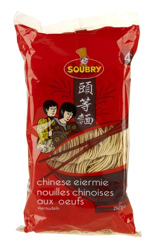 SOUBRY nouilles chinoises oeufs 250g