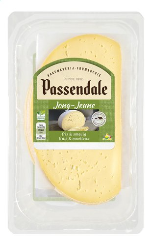 PASSENDALE fromage jeune tranches 300g
