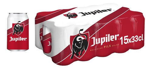 JUPILER pils 5,2%vol canette 33cl