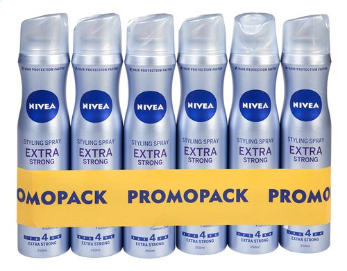 NIVEA spray extra forte 6x250ml