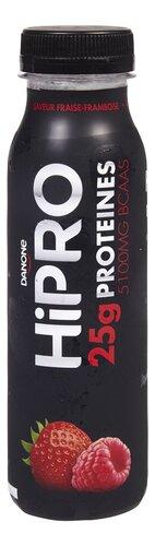 Danone Hipro yoghurt drink aardbei/framboos 300g | Colruyt