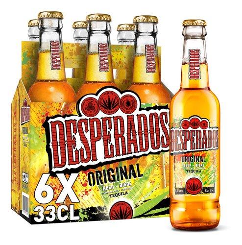 Desperados Biere Tequila 5 9 Vol 6x33cl Bouteille Colruyt