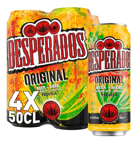 Desperados Biere Tequila 5 9 Vol 50cl Canette Colruyt
