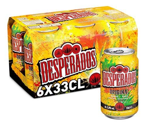 Desperados Biere Tequila 5 9 Vol 33cl Canette Colruyt